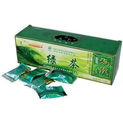 Herbata Zielona prasowana w kostkach 125g Chiny ME