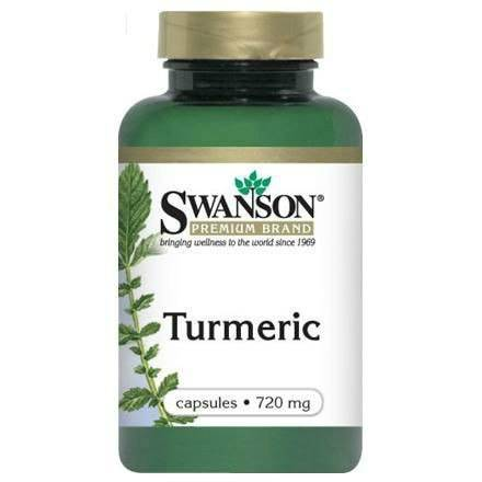 SWANSON TURMERIC 720 mg 100 kaps.