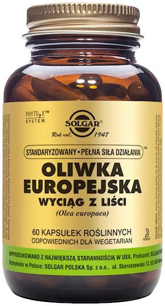 Solgar OLIWKA EUROPEJSKA S.P.S.D.* (Olea Europaea)