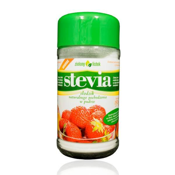ZIELONY LISTEK Stevia puder 150g