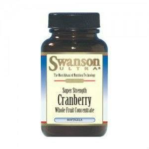 SWANSON Cranberry Super Strength ekstrakt 420mg, 6