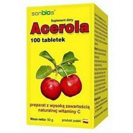 SANBIOS Acerola 100tabl.