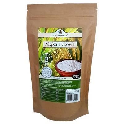 PIĘĆ PRZEMIAN Mąka ryżowa pełnoziarnista bezgluten
