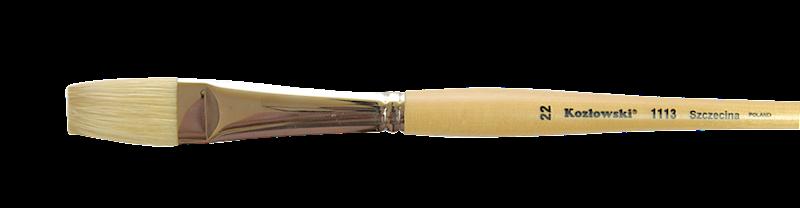 1113 nr 0 płaski szczecina interlokowana