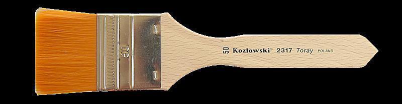 2317 nr 30 mm szeroki nylon złoty