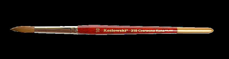 310 nr 3/0 stożkowy czerwona kuna