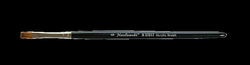 N31517 nr 6 płaski do akrylu lub żelu