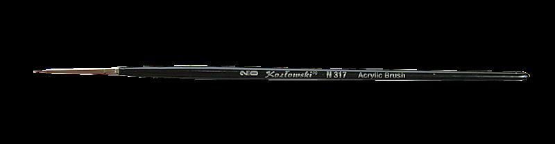 PĘDZEL DO ŻELU OKRĄGŁY N317