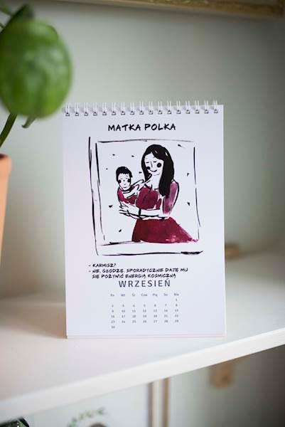 Kalendarz babski biurkowy 2019