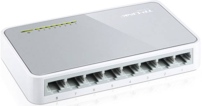 SWITCH 8-PORTOWY TP-LINK TL-SF1008D