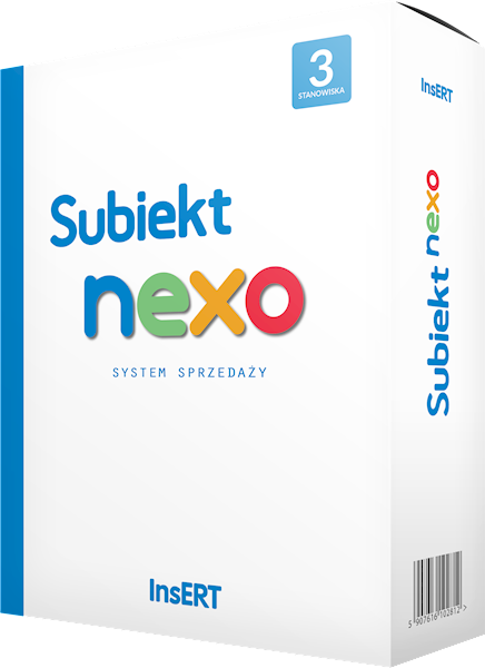 PROGRAM INSERT SUBIEKT NEXO ST.3