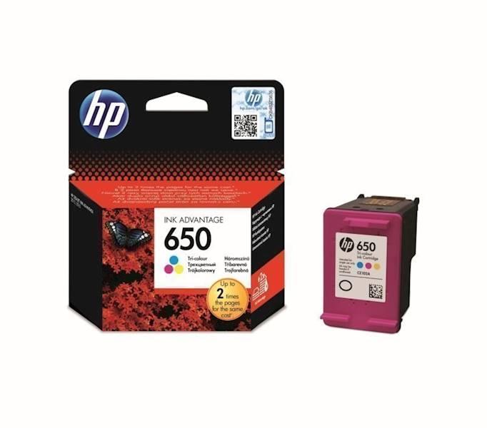 TUSZ HP NR:650 KOLOR CZ102AE ORYGINALNY