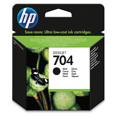 TUSZ DO HP 704 BLACK ORYGINALNY