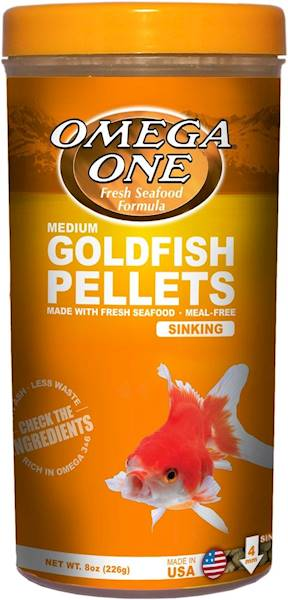GOLDFISH PELLETS SINKING MEDIUM 226G
