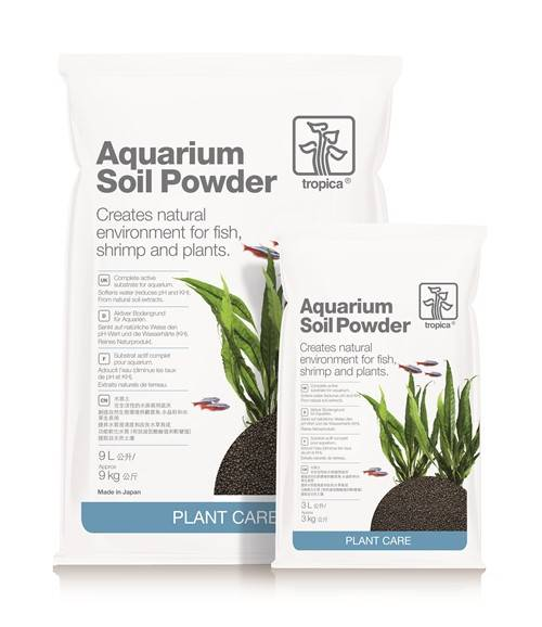 T PLANT AQUARIUM SOIL POWDER 9L