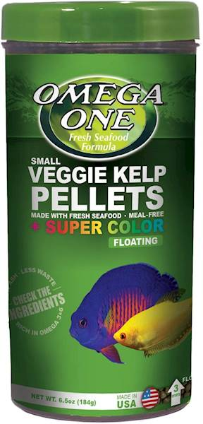 VEGGIE KELP PELLETS SUPER COLOR FLOATING SMAL 184G