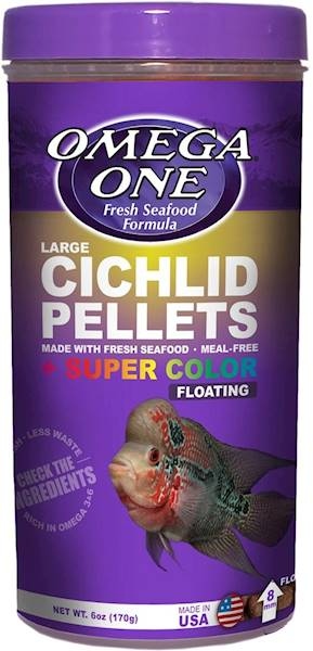 CICHLID PELLETS SUPER COLOR FLOATING LARGE 170G