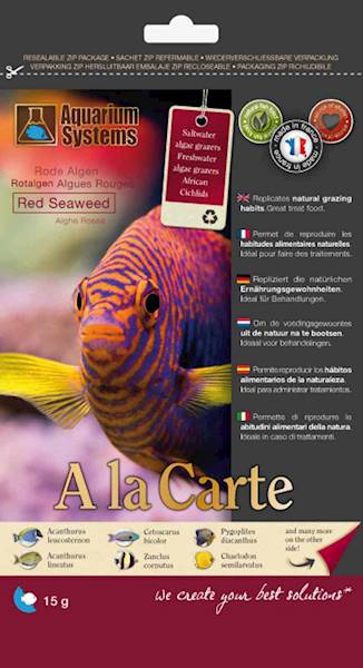 AS A LA CARTE SEAWEED RED 15G