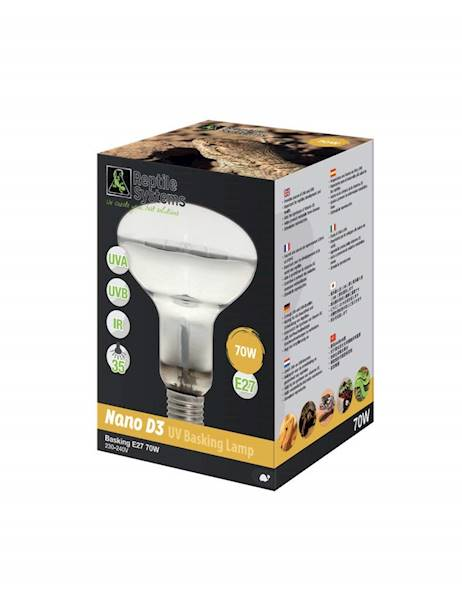 AS D3 UV BASKING LAMP NANO 70W E27