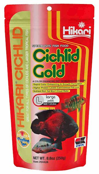 CICHLID GOLD LARGE 57G