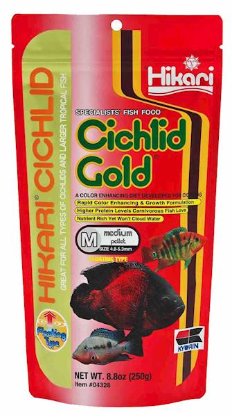 CICHLID GOLD MEDIUM 250GR 750ML