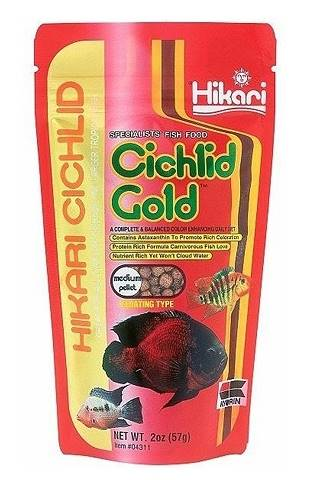 CICHLID GOLD MEDIUM 57GR