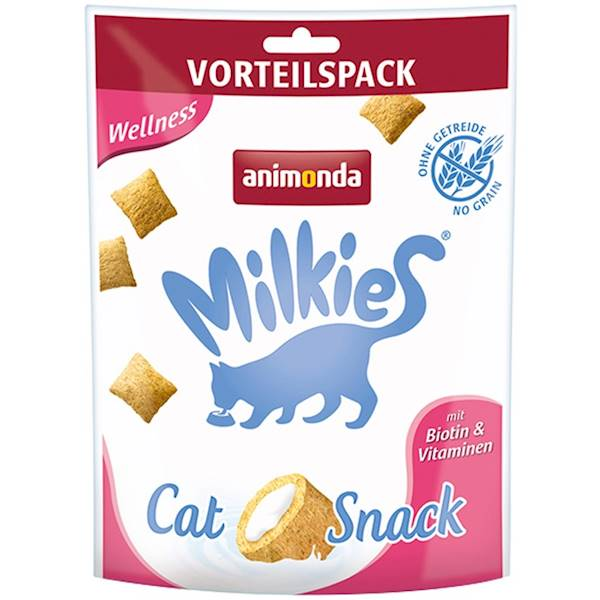 AN MILKIES CAT SNACK WELLNESS 30G KOT