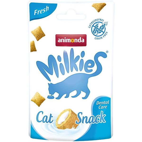 AN MILKIES CAT SNACK DENTAL 30G KOT