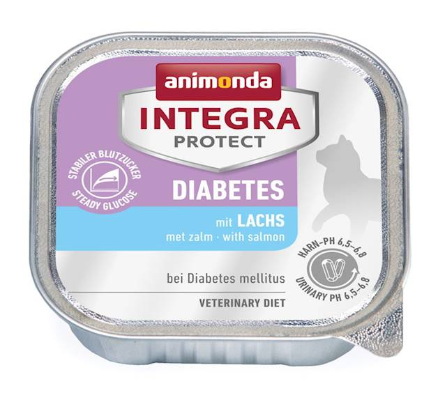 AN INTEGRA PROTECT DIABETES ŁOSOS 100G KOT