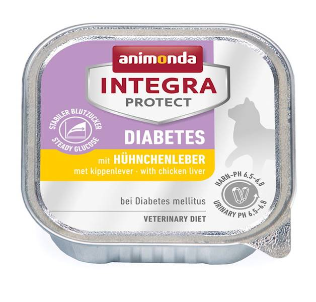 AN INTEGRA PROTECT DIABETES WĄTRÓBKA KURC.100G KOT