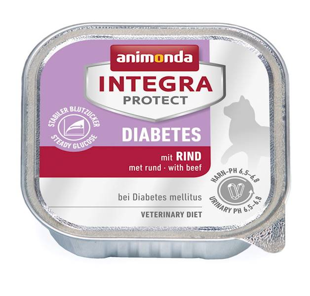 AN INTEGRA PROTECT DIABETES WOŁOWINA 100G KOT