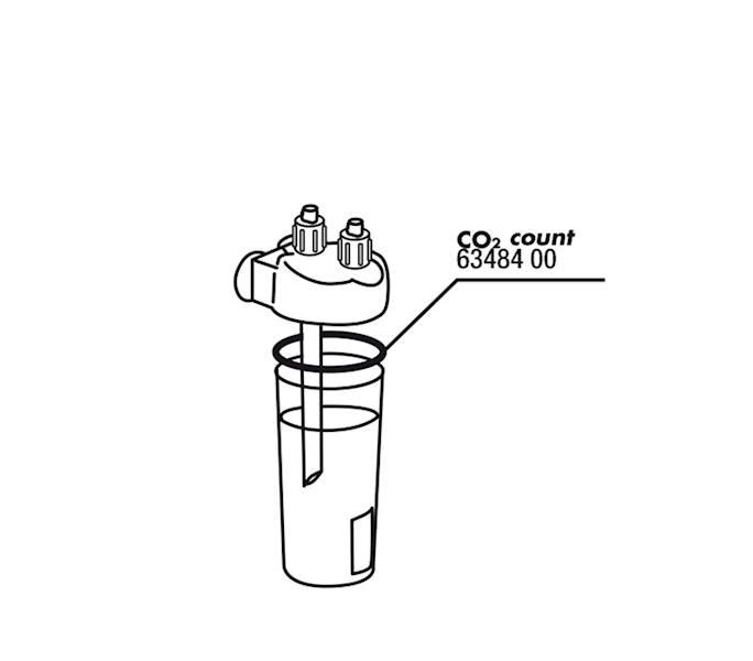 JBL PROFLORA USZCZELKA CO2 COUNT