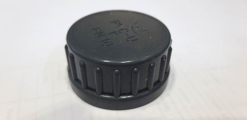 Nakrętka  1,5''  PCV (bez uszczelki )