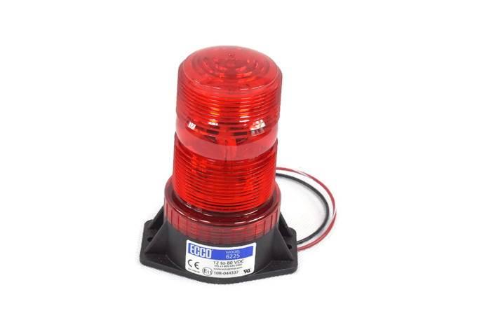 Lampa błyskowa czerwona led 12-80V  6225R