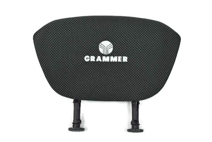 Zagłówek tkanina fotela Grammer Maximo, Compacto