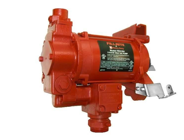 FR311VELMN 230V Pompa paliwa z przepływomierzem