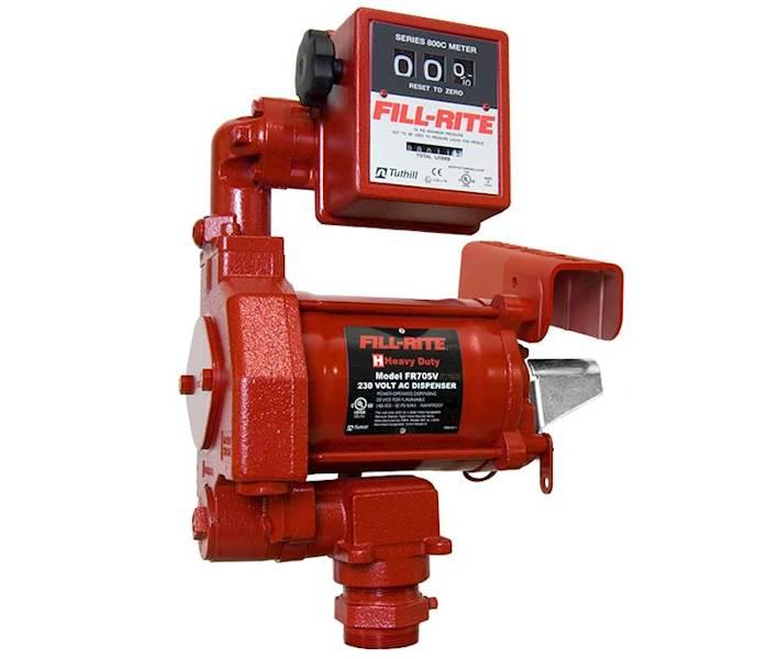 FR705VEL 230V EX Pompa paliwa  + przepływomierz