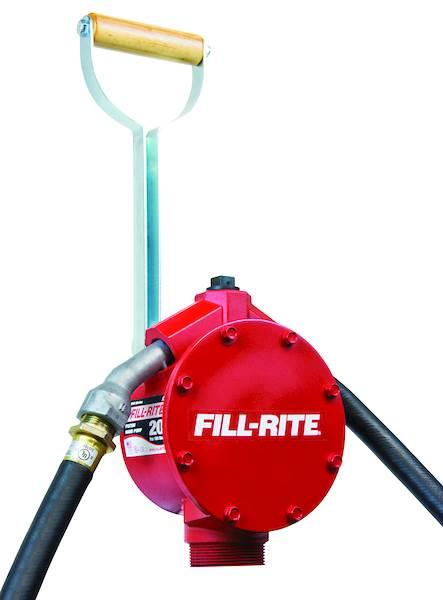 FR152 Ręczna pompa tłoczkowa do paliwa