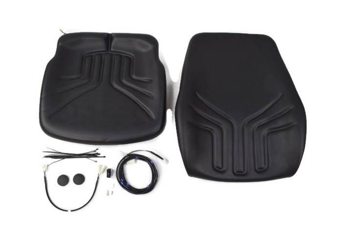 Zestaw poduszek siedzenia i oparcia fotela Grammer /722 PVC z podgrzewaniem