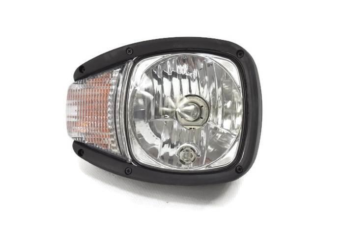 Reflektor główny prawy N500, 12V AMP/ECE