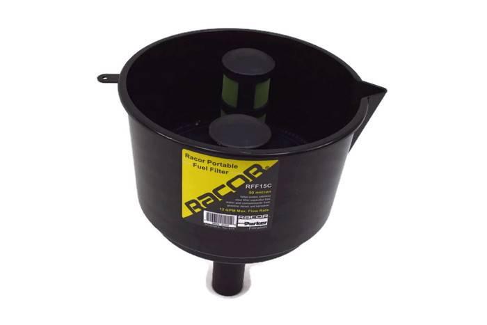 Lejek z filtrem do paliwa lotniczego i diesel RFF15C