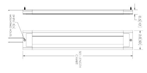 Oświetlenie wewnętrzne z  przyłączem 12-24V