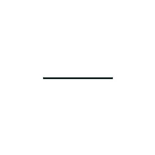 Listwa cer. HANABI NERO SZKLANA 2.3x65.1 P
