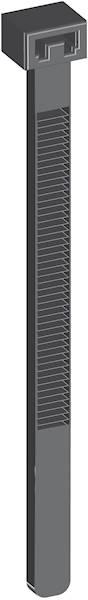 Opaska kablowa 200x3,6 czarna