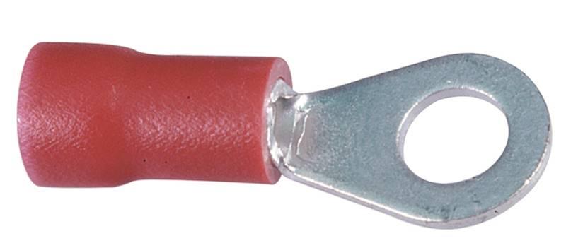 Końcówka wytłaczana oczkowa izolowana A 2,5-1