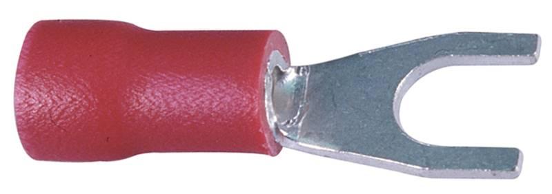 Końcówka wytłaczana widełkowa izolowana C 4-1