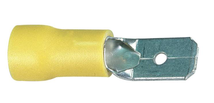 Wsuwka konektorowa izolowana 6,3-6
