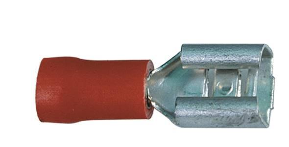 Nasuwka konektorowa izol. 6,3-1,00