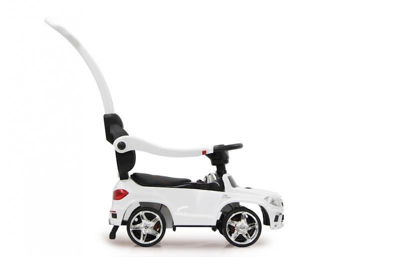 AUTO MERCEDES Jeździk klakson światła LED chodzik
