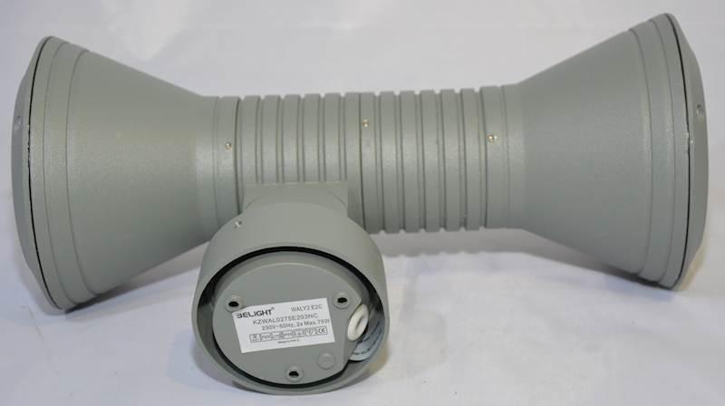 OPRAWA zewnętrzna WALY2 E2C lampa LED E27 IP65